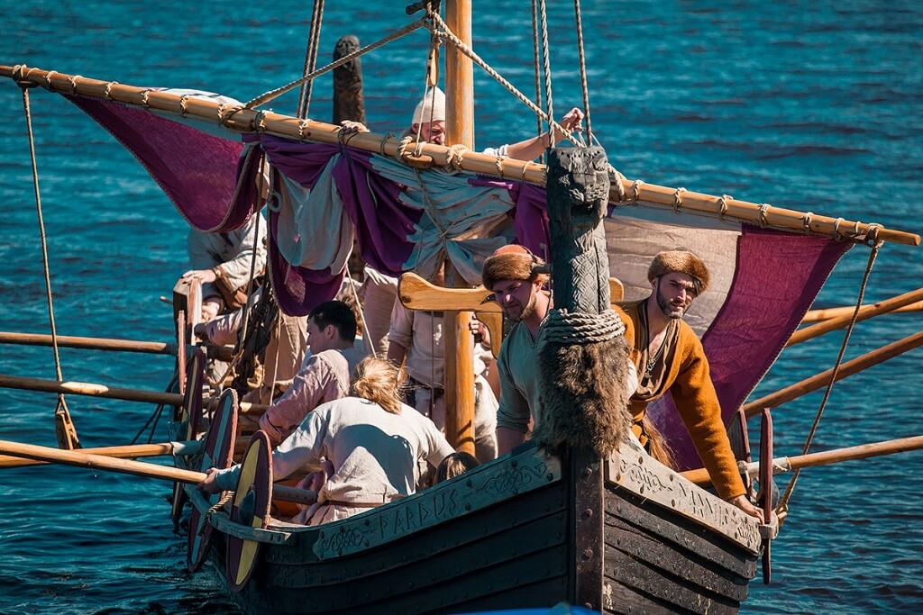 раннесредневековый корабль