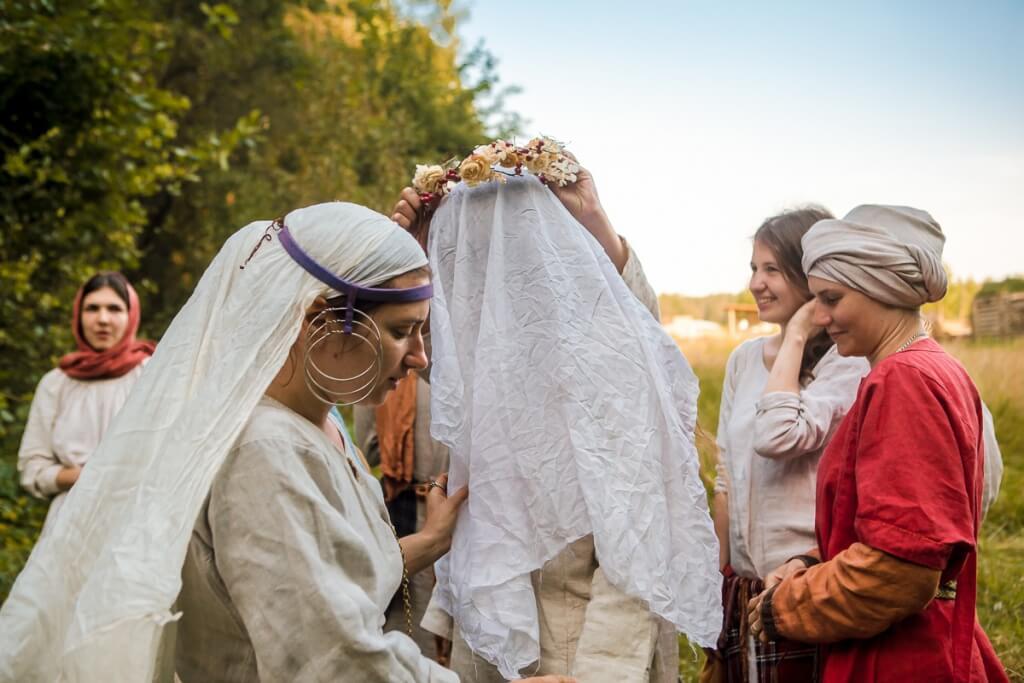 древнерусский свадебный обряд