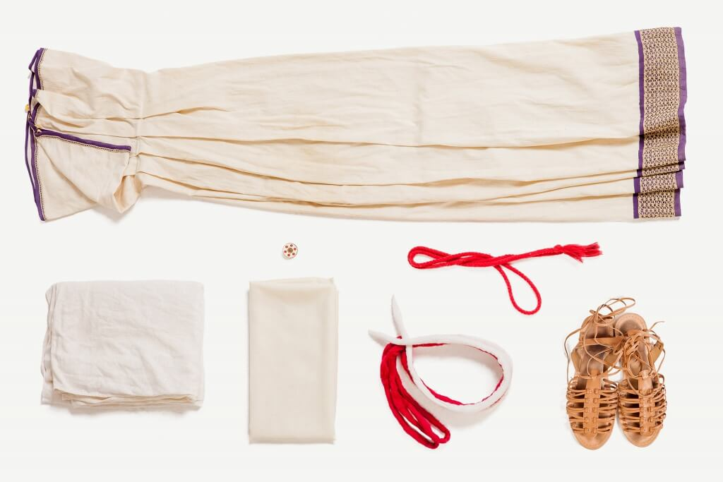 костюм жрицы весталки