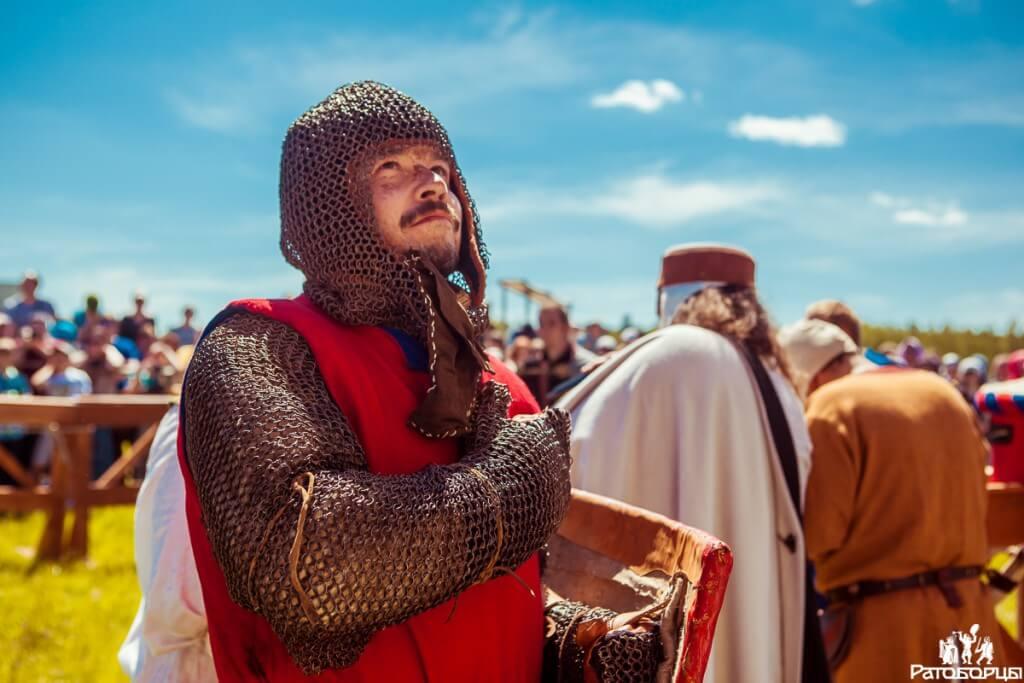 рыцарь перед битвой