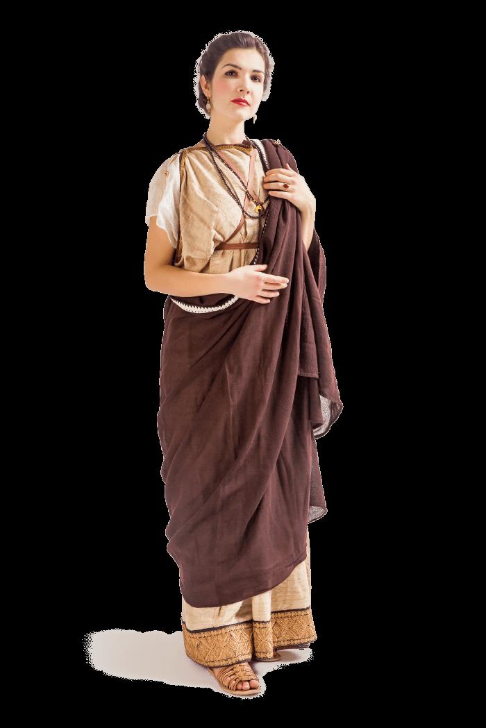 Римский костюм женский