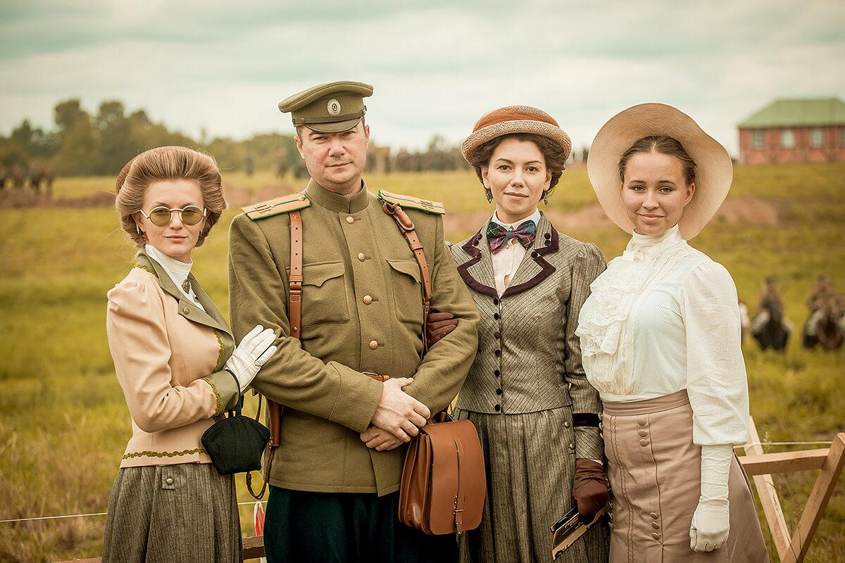 фотосессия в историчных костюмах