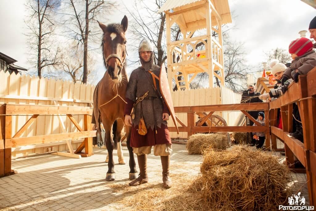 богатырский конь ратоборцев