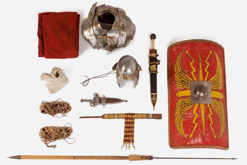 снаряжение римского легионера для съемок